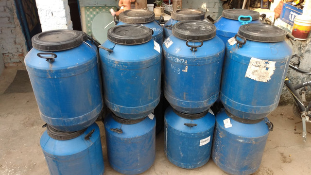 Vendo tambor de 50l leiteira - Foto 2