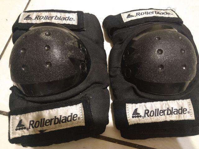 Patins Rollerblade e bolsa (leia) - Foto 6