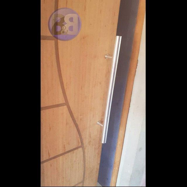 Puxador de Porta 60cm de comprimento para a sua casa, apartamento, loja ou escritório - Foto 4