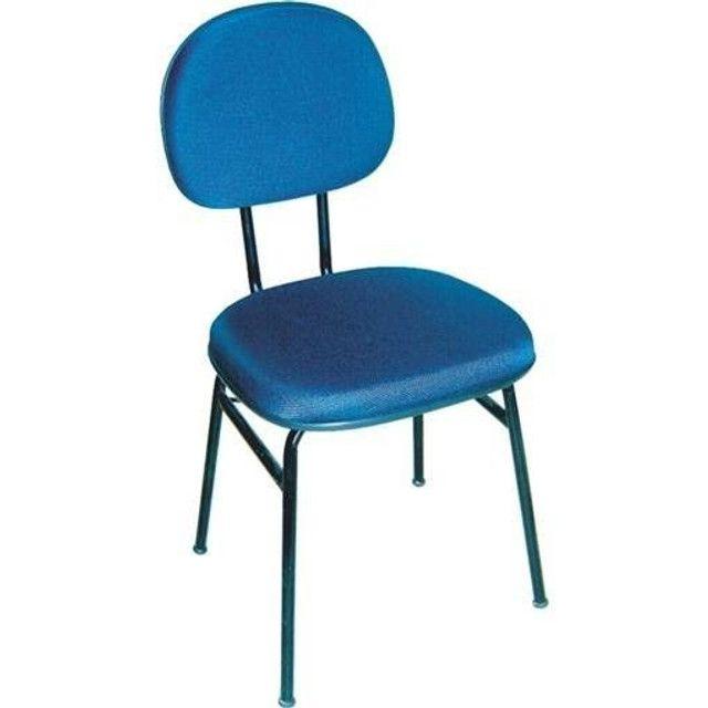 Cadeira Estofada cores diversas