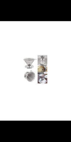 Filtro para Café Reutilizável em Inox - Foto 5