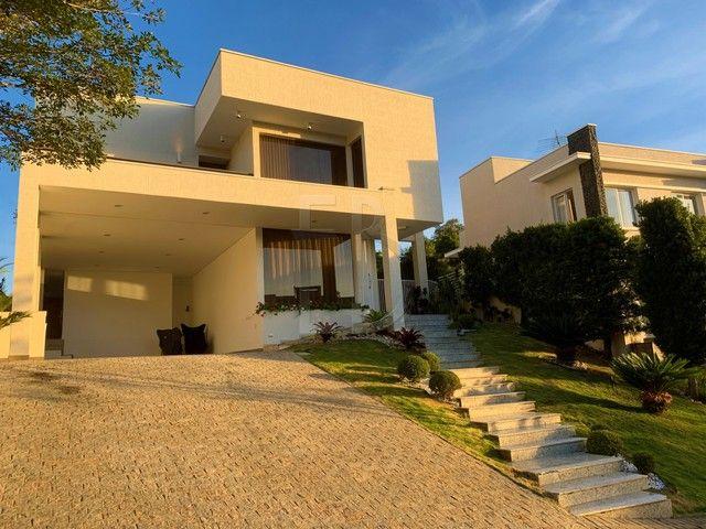 Casa de condomínio para venda com 585 metros quadrados com 5 quartos - Foto 3