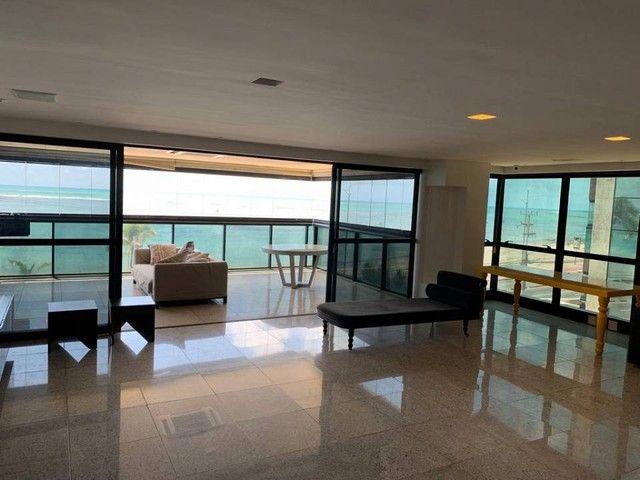 Apartamento para venda possui 349m² com 4 suítes na Orla da Ponta Verde - Maceió - AL - Foto 2