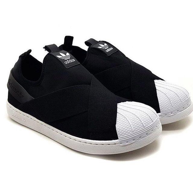 Tênis Adidas Slip On - Foto 2