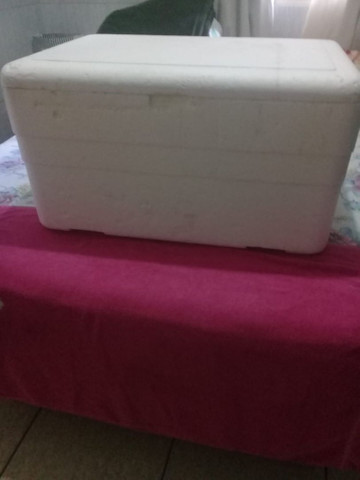 Caixa de isopor Grande com dreno - Foto 5