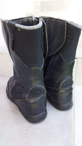 Bota de chuva Texx impermeável de motoqueiro. Ler anúncio - Foto 2