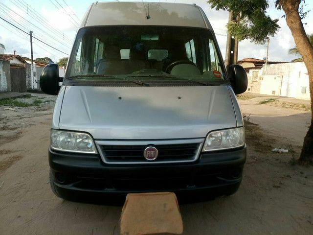 vendo uma van ducato 2.3 teto alto Fiat 2012 - Foto 4