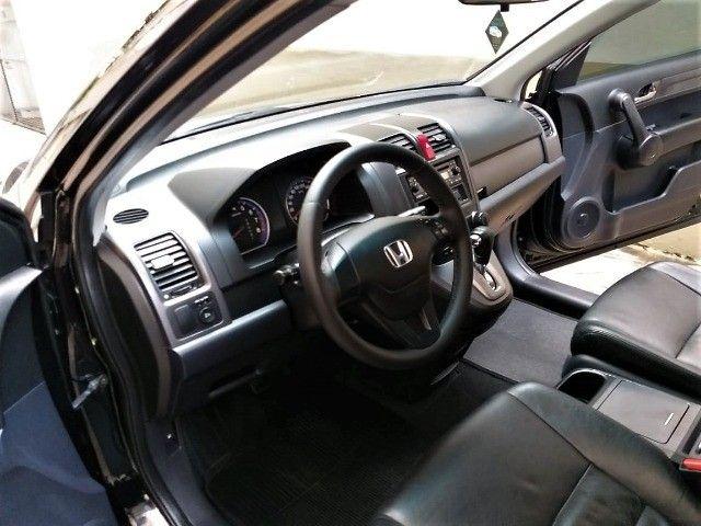 Honda CR-V LX 2011, Top, Couro, 80.000km, Ipva 21Pg, Impecável, Financio - Foto 10