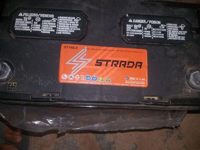 Bateria 100Ampéres bem novinha fabricação 2020  - Foto 2