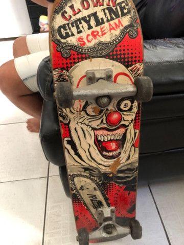 Skate vendo ou troco por patins  - Foto 3