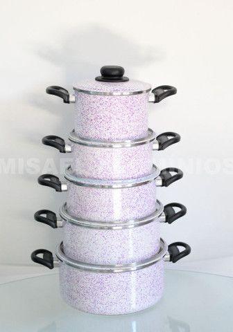 Jogo de panelas de aluminio  - Foto 3