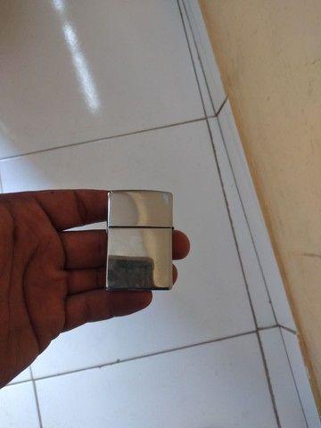 Esqueiro zippo 13 fabricado na  usa aço inox pra colecionador  - Foto 5