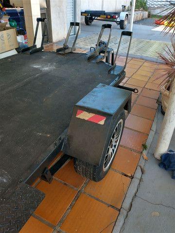 Carretinha Angola 5 motos  - Foto 3