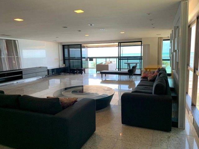 Apartamento para venda possui 349m² com 4 suítes na Orla da Ponta Verde - Maceió - AL - Foto 9