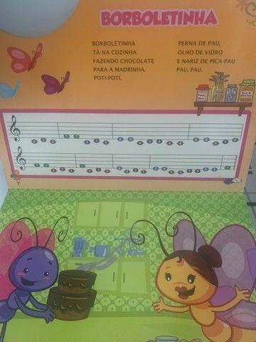 Livro Piano Galinha Pintadinha  - Foto 3