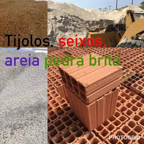 Resultado de imagem para tijolos e areias e seixos