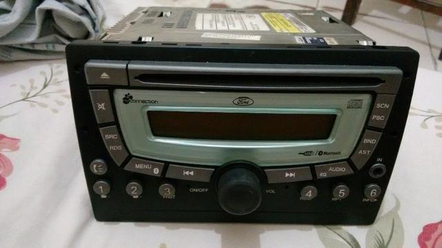 Som automotivo e toca CD my connection ford fiesta original