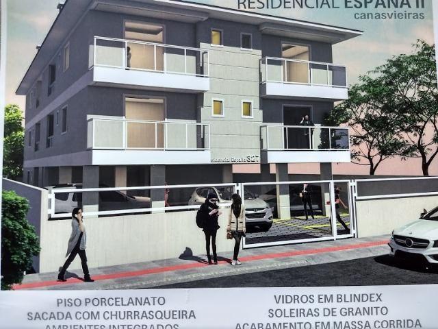 Excelente Apartamento 2 dorm. 1 suíte em Canasvieiras! Parcelamento Direto com Construtor