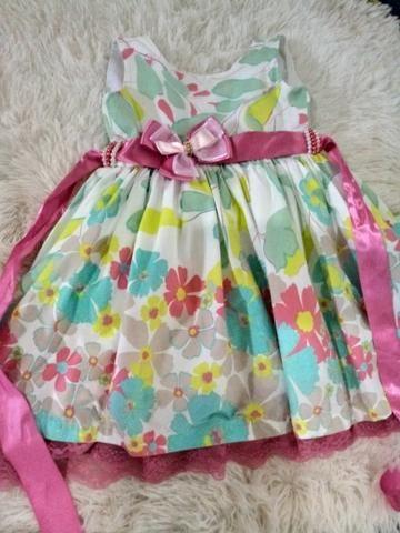 efcdc52ce Vestido de Festa ( Veste 1 e 2 anos) - Artigos infantis - Mangabeira ...