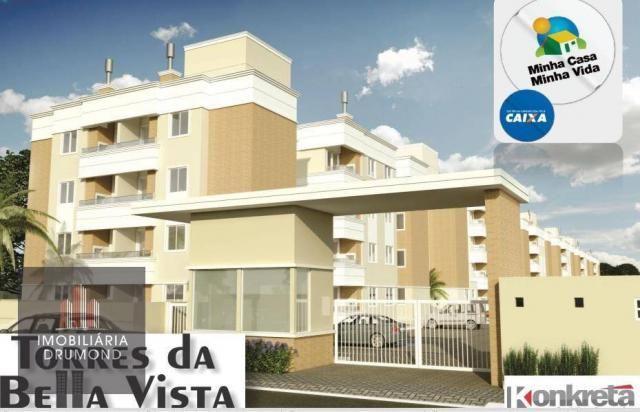 Apartamento 2 dormitórios- torres do bella vista - palhoça/sc - Foto 19
