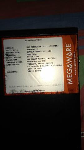 Computador MegaWare 8GB RAM Intel I3 - Foto 6