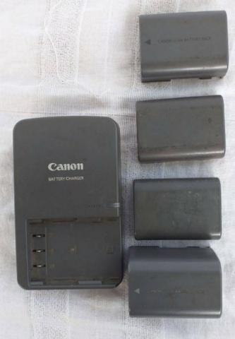 Bateria recarregável de Íons de Lítio. Bateria Canon Pack - Foto 3