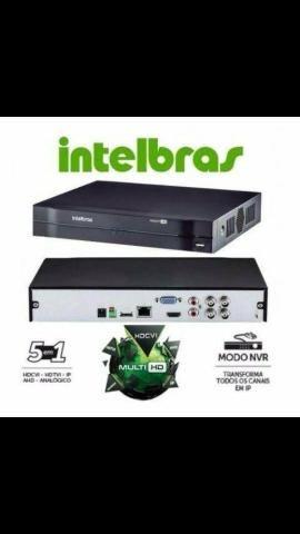 DVR Intelbras MHDX 1004 4 canais em HD