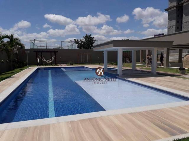 Apartamento NOVO com 3 dormitórios para alugar, 65 m² por R$ 1.150/mês - Messejana - Forta - Foto 4