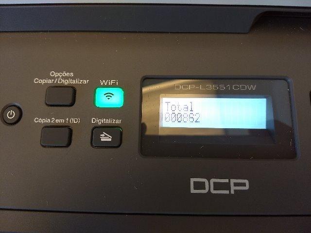 Impressora multifuncional laser colorida DCP- L3551CDW Brother - Foto 2