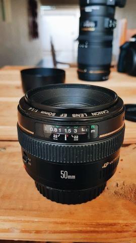 Lente Canon 50mm f1,4 USM - Foto 3