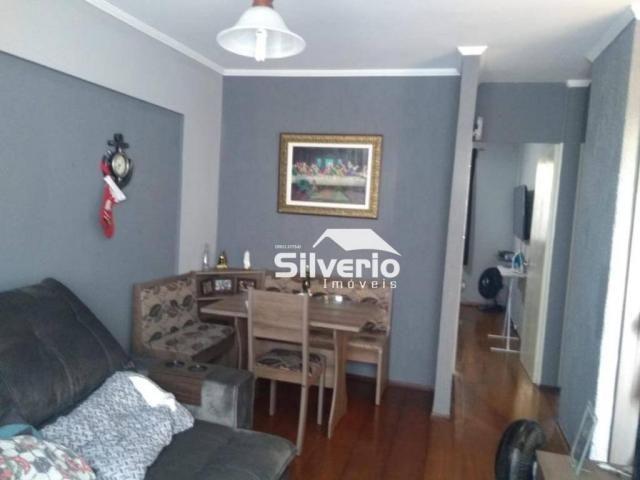 Apartamento com 2 dormitórios à venda, 50 m² por r$ 210.000 - vila rossi - são josé dos ca