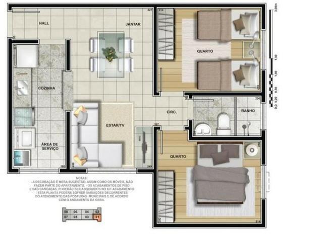 Apartamento na Maraponga 145mil Pronta Entrega - Foto 10