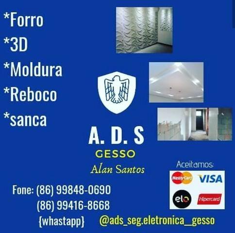 ADS Gesso e segurança eletrônica - Foto 2