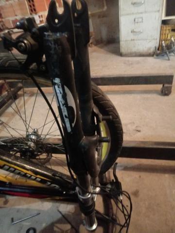 Vendo suspençao dianteira de bicicleta