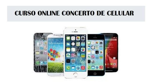 Curso Online de Concerto de celular
