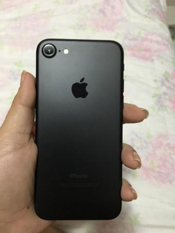 ESQUENTA BLACK FRIDAY IPhone 7 32gb Preto SEM NENHUMA MARCA DE USO (Aceito cartões)