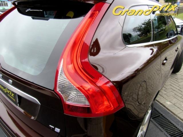 VOLVO XC60 2014 2.0 T5 R DESIGN TURBO GASOLINA 4P AUTOMÁTICA MARROM COMPLETA ÚNICO DONO - Foto 17