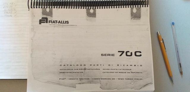Catálogo peças, manual, Ad7b, Uniport, FG85, FR12, FB80, 70ci, FH200, 4CT - Foto 7