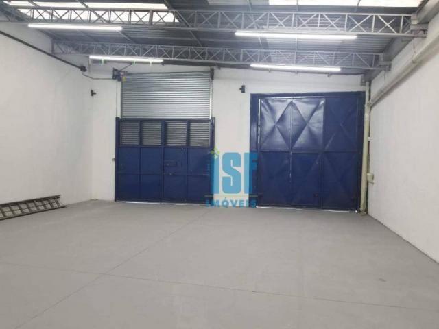 Galpão para alugar, 700 m² por r$ 11.000/mês - vila sílvia - são paulo/sp - ga0451. - Foto 2