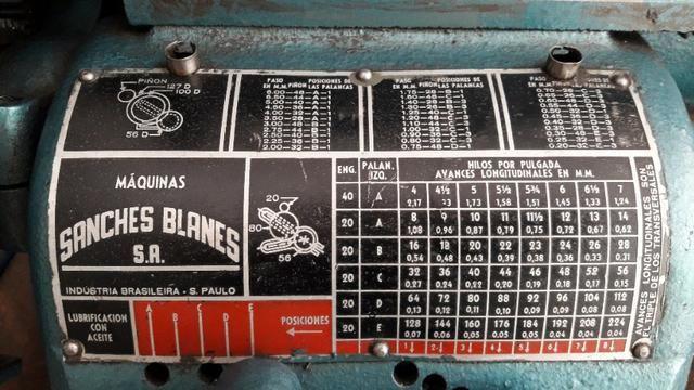 Torno mecanico sanches blanes caixa norton - Foto 6