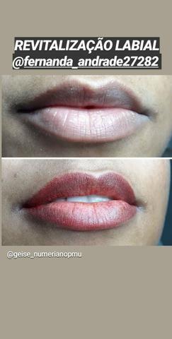 Micropigmentação de sobrancelhas e lábios - Foto 2