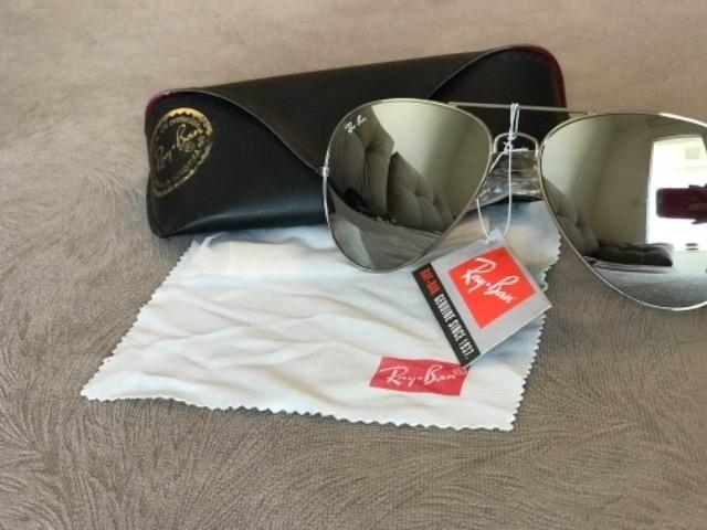 05e8b7a145a11 Óculos Rayban Aviador Espelhado original - Bijouterias, relógios e ...