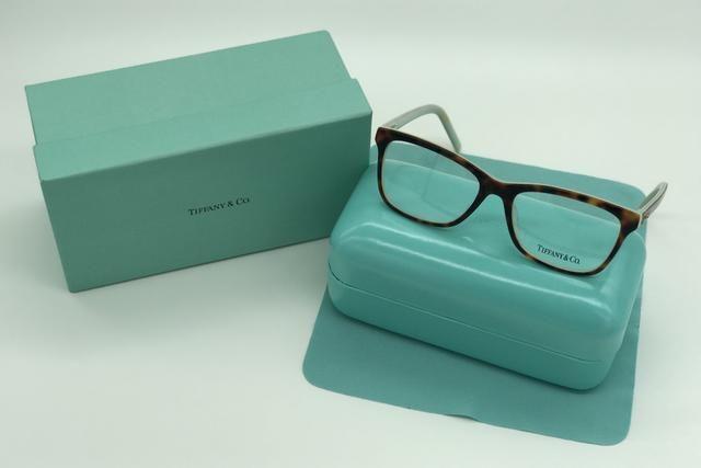 721943e045e61 Armação Óculos Marca Tiffany Azul Preto - Bijouterias, relógios e ...