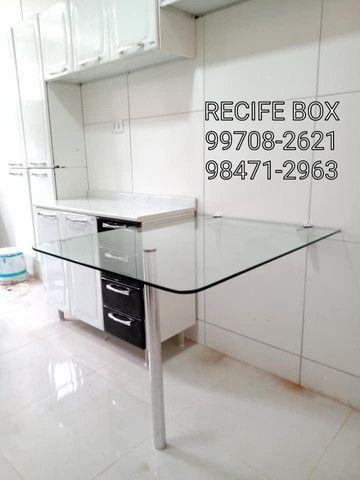 Box para banheiro em vidro temperado - Recife Box - * - Foto 4