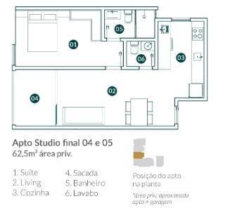 Apartamento para Venda em Balneário Camboriú, vila real, 2 dormitórios, 1 suíte, 2 banheir - Foto 9
