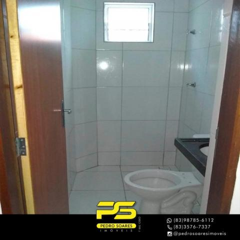 Apartamento com 2 dormitórios à venda, 60 m² por R$ 110.000 - Paratibe - João Pessoa/PB - Foto 5