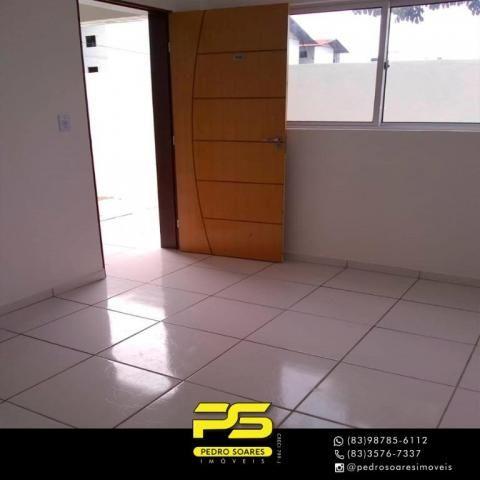 Apartamento com 2 dormitórios à venda, 60 m² por R$ 110.000 - Paratibe - João Pessoa/PB - Foto 10