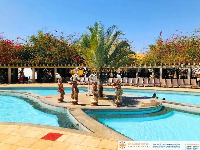 Venha para Caldas Novas Hotel com Parque Aquatico Flats Completo Hospedagem Temporada - Foto 3