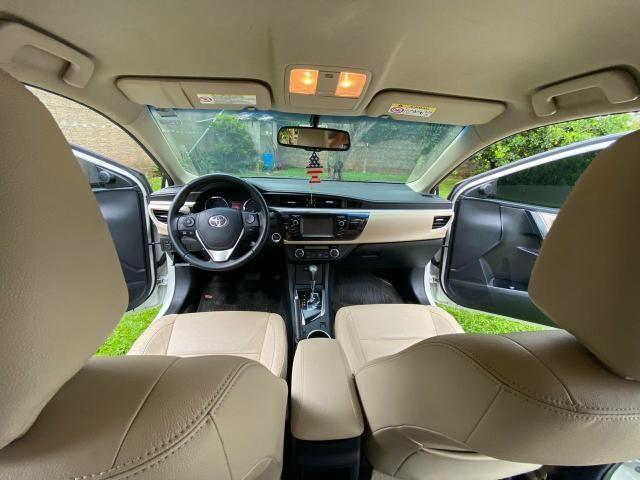Corolla Altis 2.0 2016 - Revisado Sempre na Toyota - Aceito troca - Foto 7