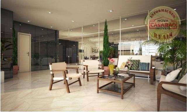 Apartamento com 2 dormitórios à venda, 77 m² por R$ 419.958 - Maracanã - Praia Grande - Foto 8